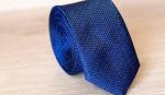 Узкий галстук жаккард U-98