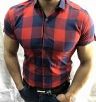 Мужские рубашки с коротким рукавом 2760-5