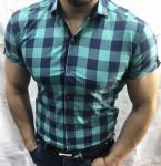 Мужские рубашки с коротким рукавом 2761-1
