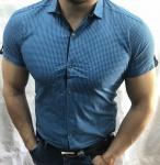 Мужские рубашки с коротким рукавом 2762-3