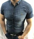 Мужские рубашки с коротким рукавом 0607-3