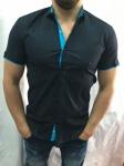 Мужские рубашки с коротким рукавом 2664-3