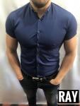 Мужские рубашки с коротким рукавом ARMANI 2974-2