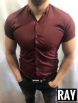 Мужские рубашки с коротким рукавом ARMANI 2974-3