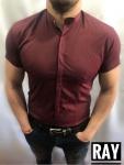 Мужские рубашки с коротким рукавом 2975-3