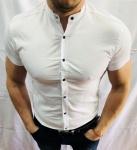 Мужские рубашки с коротким рукавом 2976-2