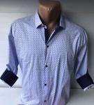 Мужские рубашки длинный рукав - батал Б3202-2