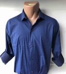 Мужские рубашки длинный рукав - батал Б3202-5